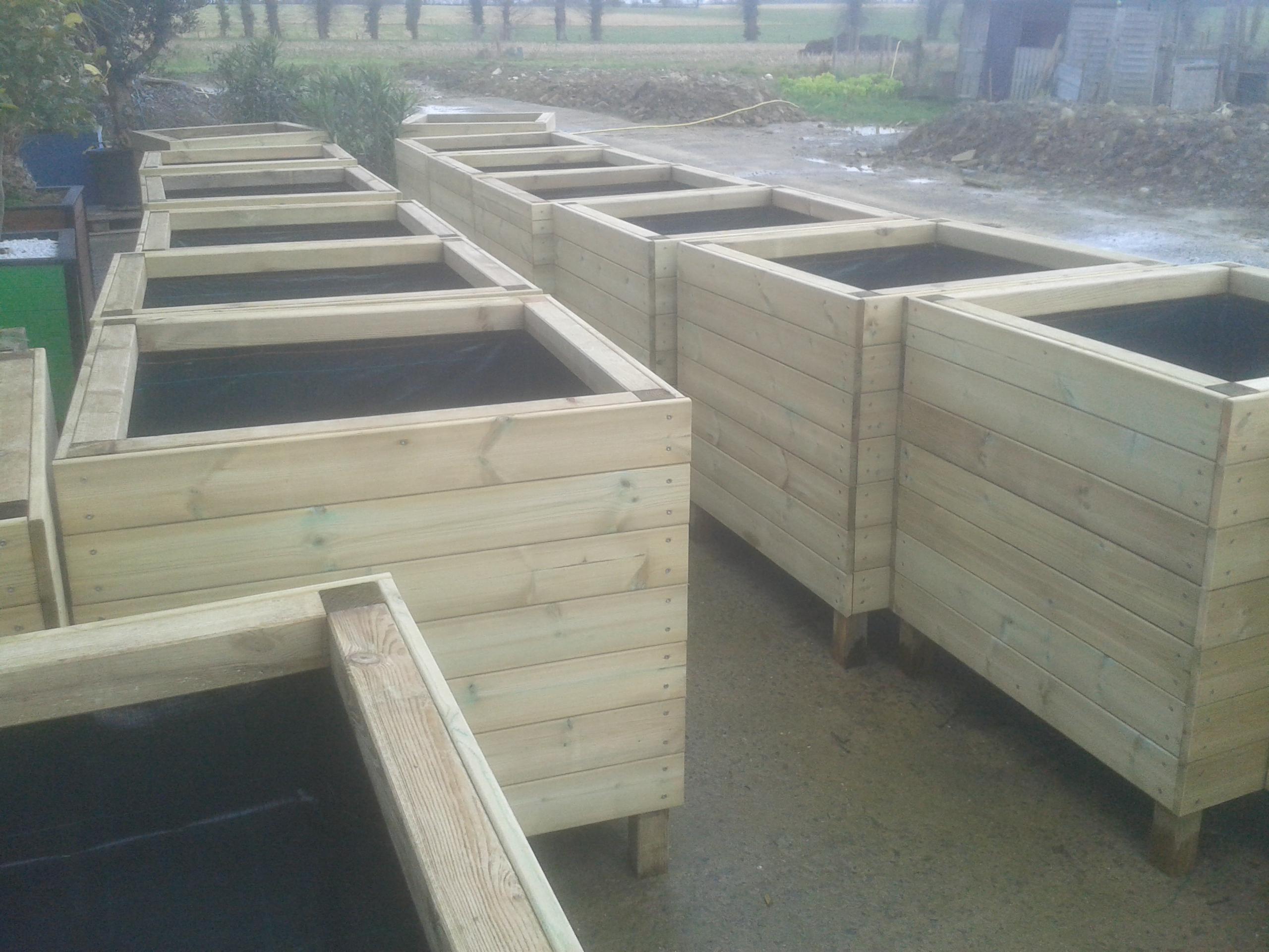 jardini re carr e gros volume 1mx1mx1m 1m3 xxl jardiflo. Black Bedroom Furniture Sets. Home Design Ideas