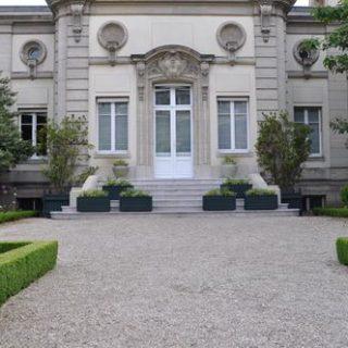 Assemblée nationale - Jardin des 4 colonnes